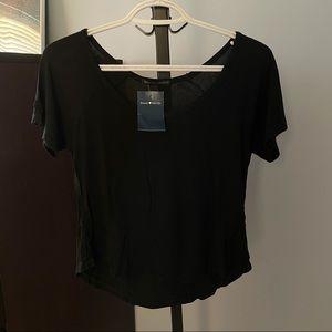 NWT Brandy Melville Black T-Shirt